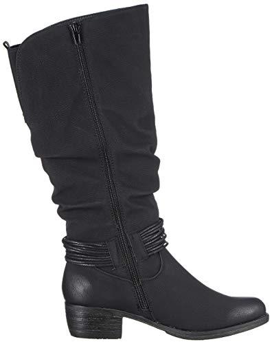 Rieker Noir 93154 schwarz Femme 00 Bottes Hautes SqS47w
