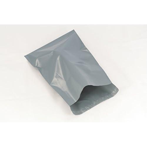(Lot de 50) Gris 30,5x 40,6cm, 300x 400mm, postaux Poly postal Plastique enveloppes d'expédition Sacs d'emballage Mail Package autocollante enveloppe