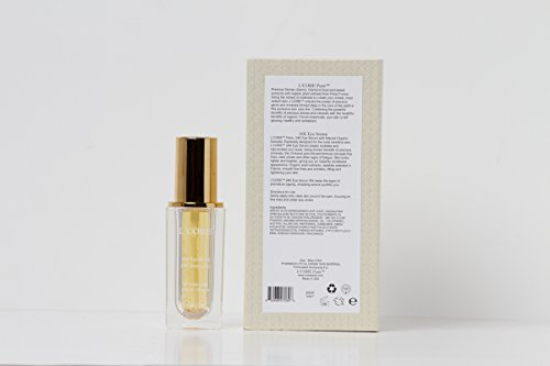 L'core Paris 24K Eye Serum - 0.85oz/25ml - Multi Use Eye Serum, Anti Aging, Remove Dark Circles, Wrinkles, Fine Lines, Puffiness Infused with Pure Gold & Vitamin A, C, E, Instant, Absorbs fast, Light