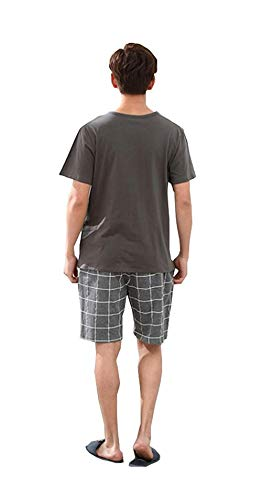 Manica Two Bagno Da Uomo Loungewear Comodo Lounge Pigiama In Marca Mode Cotone E Summer Top Corta Bolawoo Color2 Piece Homewear Di Set TnwfOgHwx