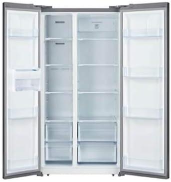 Refrigerators Ascoli ASBS2100EB 20.6 Cu Side by Side Refrigerator ...