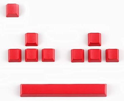 SSSLG PBT keycaps OEM Highly Mechanical Keyboard Keycap MX Red and Black Color Matching 104-Key Side Engraving