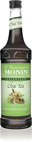 Monin Chai Tea Concentrate, 33.8-Ounce Plastic Bottle (1 liter) (Best E Liquid Flavor Concentrate)