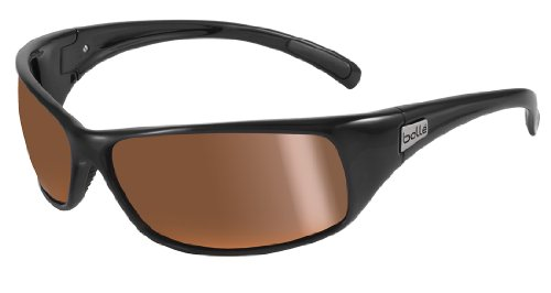 (*Bolle Recoil 11054 Sunglasses Shiny Black)