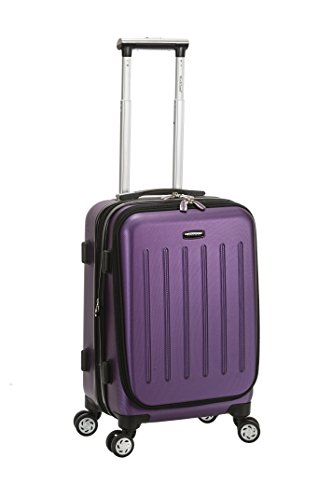 rockland-titan-19-inch-abs-carry-on-purple