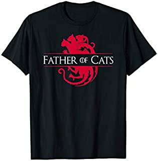 Father of Cats  - Cat Lovers Cat Dad Gift T-shirt | Size S - 5XL