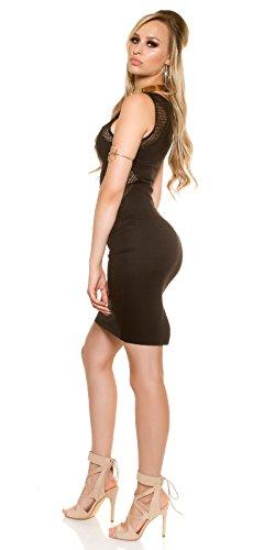 In-Stylefashion - Vestido - Estuche - para mujer negro