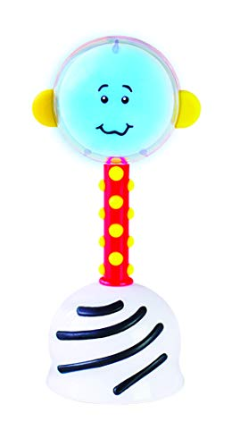 (SmartNoggin NogginStik Developmental Light-Up Rattle - Encourage Developmental Milestones from Infant - 12 months)