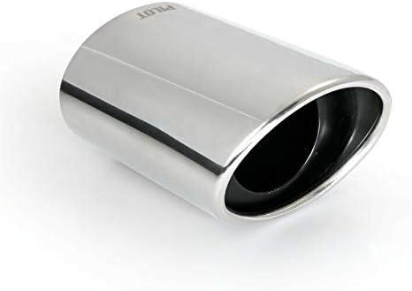 ER60027 - Acero inoxidable de tubo de escape del tubo de escape de para atornillar Embellecedor de tubos de escape universales Sport