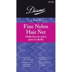 Diane Net French Elastic 3 Count Blonde
