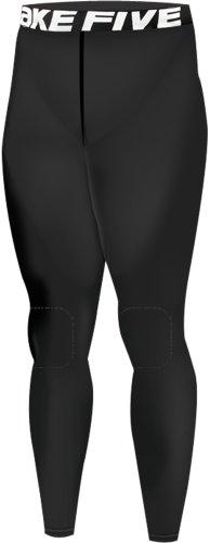 New 161 Take Five Mens Winter Warm Compression Tights Knee Pad Long Pants (XL)