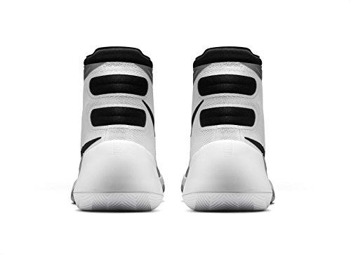 Nike Herren Hyperdunk 2015 Basketballschuhe Weiß / Schwarz / Grau (Weiß / Schwarz-Wolf Grau)