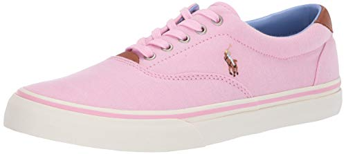 POLO RALPH LAUREN Men's Thorton Sneaker, Pink, 11.5 D US