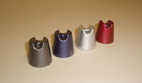 - Metal Cigarette Snuffers - Set of 4 (1 each Grey, Indigo, Silver, Red)