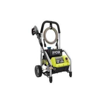 Ryobi RY14122 1700 PSI 1.2 GPM High Pressure Electric Power Washer w/3 Nozzles Certified Refurbished