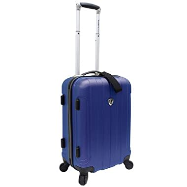 Travelers Choice Cambridge 20 in. Carry-on Lightweight Hardside Upright Spinner Luggage