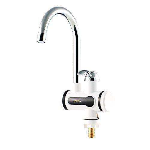 ATWFS Electric Tankless Instantaneous Water Heater Faucet Kitchen by ATWFS