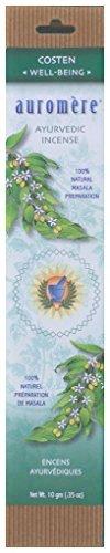 Auromere Ayurvedic Incense, Costen (Well-Being)