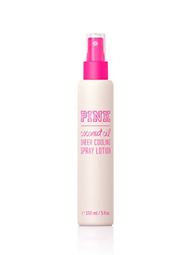 VICToria's Secret PINK Coconut oil sheer cooling spray lotio