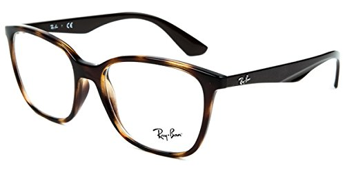 7c95372df9 Amazon.com  Ray-Ban RX 7066 Havana 52 17 140 Unisex Eyewear Frame  Watches