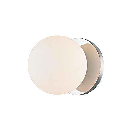 Hudson Valley Lighting 9081-PC Baird 1 Light Bath Bracket, Polished -