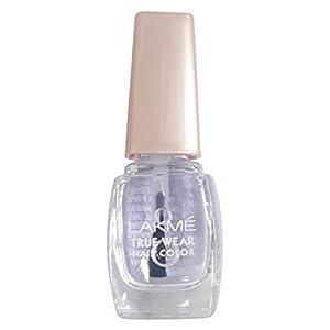 Lakmé True Wear Nail Color, Clear Glass 12, 9ml Bottle