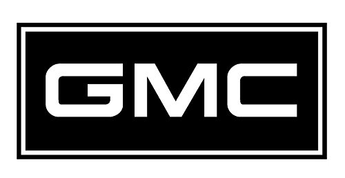 GMC Decal Sticker - Peel and Stick Sticker Graphic - - Auto, Wall, Laptop, Cell, Truck Sticker for Windows, Cars, Trucks