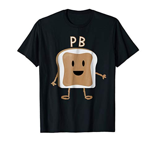 PB&J T-Shirt Halloween Matching Couples Costume