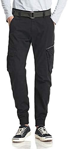 男性の新しいファッションカジュアルストレート屋外ポケットビーチズボンロングパンツ