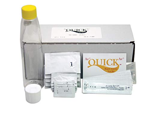 Industrial Test Systems Quick 481396-W Arsenic Wood Field Testing Kit, 5 Tests, 12 Minutes Test Time