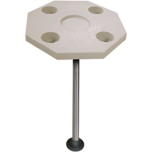 JIF Marine Octagonal Ivory Table KIT ()