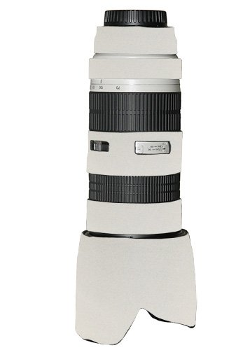 LensCoat LC70200NISCW Canon 70-200 f/2.8 no IS Lens Cover (Canon White) by LensCoat