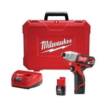 Milwaukee 2462-22 M12 Cordless 1/4 Hex Impact Driver Kit