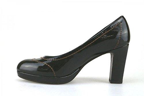 CALPIERRE 38 EU Zapatos de Salón Verde Charol AJ386