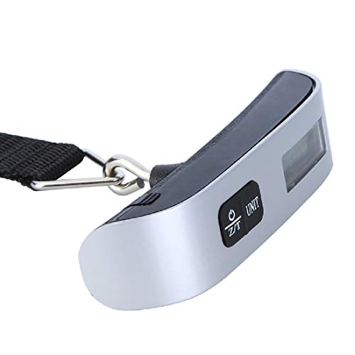 Weighing Scales – 1pc Luggage Scale Electronic Digital Portable Suitcase Travel Bag Hanging Scales Balance Weight…