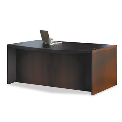 MLNABD7242LDC - Mayline Aberdeen Series Laminate Bow Front Desk Shell