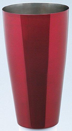 Piazza–Boston Shaker aus Edelstahl rot 900ml 474701