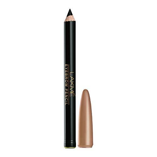 Lakme Eyebrow Pencil, Black, 1.2g