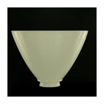 Alabaster glass shade 1 58 inch fitter opening lampshades upgradelights 8 inch glass floor lamp reflector shade glass lamp glass mozeypictures Images