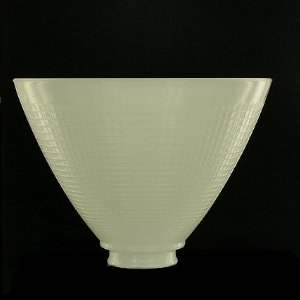 Upgradelights 8 Inch Glass Floor Lamp Reflector Shade