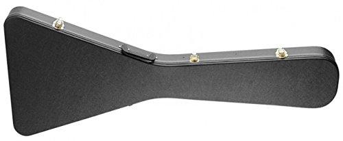 Stagg GCA-FV Basic Flying V Style Guitar Hard Case - Black