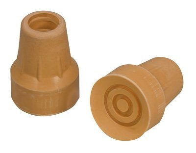 Mabis Replacement Crutch Tips, Large, #50, 1 Pair 512-1431-9502
