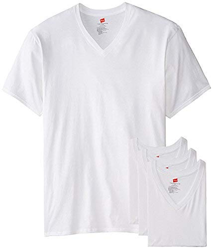843a8157b0b Hanes Men s Tall Man V-Neck T-Shirt (Pack of 3) (Large Tall