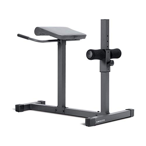 Cirocco roman chair hyperextension station lower back muscle