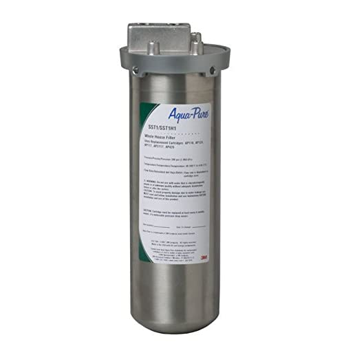 Image of 3M Aqua-Pure Whole House Water Filtration Housings - Model SST1 (Pack of 4) Under-Sink & Countertop Filtration