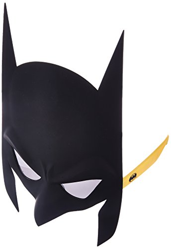 Sunstaches DC Comics Batman Full Mask Sunglasses, Party