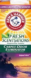 Arm & Hammer Fresh Sensations Island Mist Carpet Odor Eliminator 18 Oz (3 Pack)