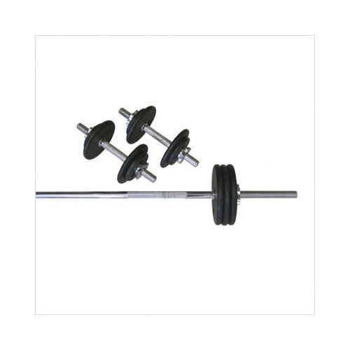 Amber Sports 110-Pound Threaded Weight Set by Amber