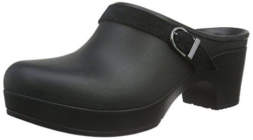 Crocs Sarah Mule Verstoppen Zwart / Zwart / Zwart