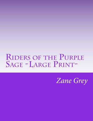 Riders of the Purple Sage -Large Print- pdf epub
